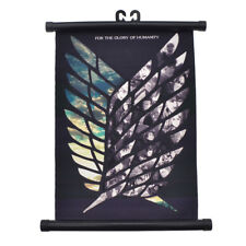 Japanese Attack on Titan Wings of Liberty Canvas Scroll  Modern Art Decor Poster