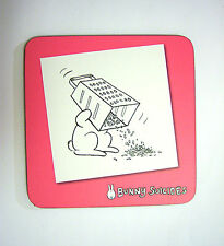 Novelty Coaster Bunny Suicides Coaster- Grating Head £1.49 Xmas Gift