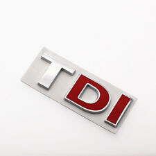 3D Metal Car Sticker Badge Emblem Decal For Volkswagen TDI