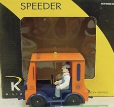 K-LINE LONG ISLAND MOTORIZED SPEEDER CAR NEW FOR LIONEL MTH ATLAS TRAIN ENGINE