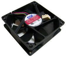 AVC HP 12v DC 0.50a 4-Wire 80x25mm Fan DL08025R12U-PS14 4-Pin Hydraulic Bearing