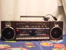 Cassette Boombox Estéreo Portátil Doble Panasonic Modelo RX-CW50F Vintage