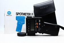 Minolta Spotmeter F Light Exposure Spot Meter -BB 1184-