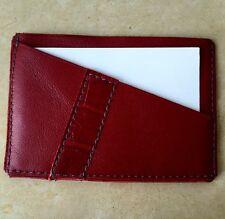 Porte-cartes cuir satin + cuir imitation croco