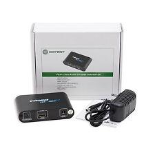 Syba Sy-ada31050 VGA Hd15 3.5mm Audio to HDMI Converter