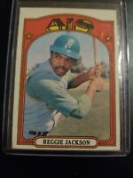 1972 Topps Set Break #435 Reggie Jackson Oakland Athletics A's Yankees HOF MLB