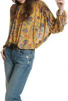 Free People Damen Blütenhonig Top Entspannt Mehrfarbengroß Größe XS