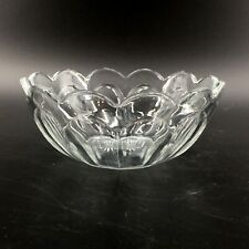 Antique Vintage Heisey Colonial Panel Scalloped Edge Serving Bowl 6 1/2""