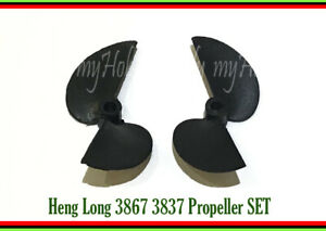 RC speed boat propeller heng long 3867 3837 left right accessory spare part x 3