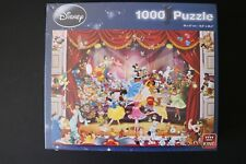 DISNEY PUZZLE 1000 PIECES KING SHOW SCENE MICKEY PRINCESS DANCING NEW SEALED
