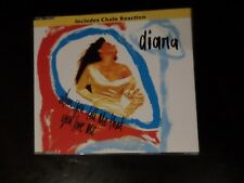 CD SINGLE - DIANA ROSS - WHEN YOU TELL ME THAT YOU LOVE ME / CHAIN REACTION