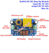 DC-DC Boost Step Up Converter 3-35V to 5V-45V 6V 9V 12V 18V 24V 36V Power Supply