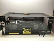 JADA THE GODFATHER 1940 CADILLAC FLEETWOOD SERIES 75 1:18 WITH FIGURE