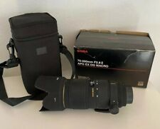 SIGMA EX 70-200mm 1:2.8 II MACRO HSM APO DG LENS With Promaster UV Filter Nikon