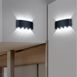 Nordic Wall Lamp Ip65 Led Aluminum Outdoor Up Down wall lights Modern For Home