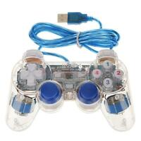 Gamepad Controller Wired Joystick USB 2.0 Dual Vibration Shock for PC Laptop