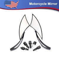 Pair CNC Motorcycle Racing Bar Side Mirror For Suzuki GSXR Hayabusa