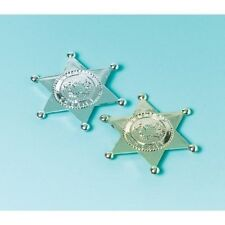 """""""Sheriff's Badges, pack of 6"""""""