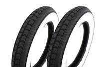 Paar Weißwand Reifen pas. f Simson SR50 SR80 Roller SD50 Continental 3,00x12 47J