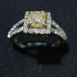 Natural Diamond For Engagement Ring 0.46 Carat Natural Fancy Yellow Diamond Natural Round Cut Diamond Natural Yellow Round CutDiamond