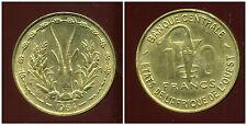 ETATS DE L'AFRIQUE DE L'OUEST  10 francs 1964 ( SUP )