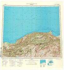 Russian Soviet Military Topographic Maps – SINOP (Turkey), 1:1 000 000, ed. 1975