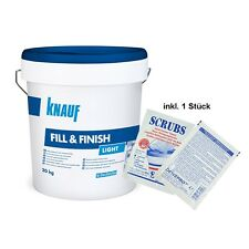 Aktion: Knauf Fill & Finish Light 20kg Feinspachtel + DEWEPRO Single Scrubs