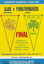Europa Cup 1 Final 1971 Ajax - Panathinaikos 2-0 DVD Full Match