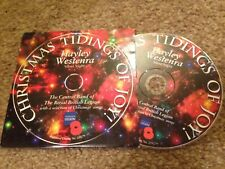 CHRISTMAS TIDINGS OF JOY HAYLEY WESTERNA ROYAL BRITISH LEGION PROMO CD Christmas