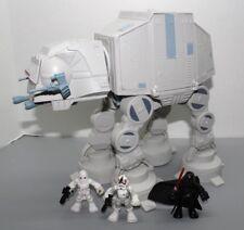 Playskool Star Wars Galactic Heroes AT AT Hoth Complete w/ driver Vader Lot