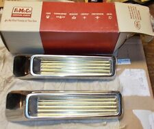 1958 FORD REAR QUARTER ORNAMENTS B8A-6429062-A FOMOCO