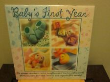 Baby's First Year Undated Calendar New