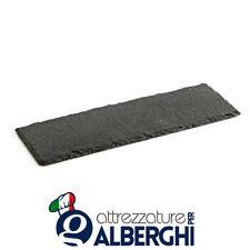 Piatto vassoio tagliere ardesia rettangolare 30x15 cm Acquisto minimo 12 Pz