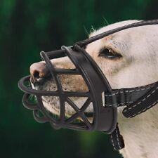 4-Snout PetBemo Strong Dog Muzzle Adjustable Soft Basket Silicone Muzzles