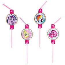 Trinkhalme My Little Pony, 8 Stück Strohhalme Party Zubehör