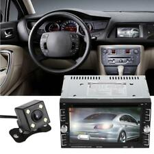 "Kamera + 2 DIN 6,2"" HD Car Auto Stereo DVD CD Spieler Bluetooth MP3 TV Radio"