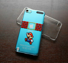 iPod Touch 5th 6th & 7th Gen - Hard Clear Back Protector Cover Case Super Mario