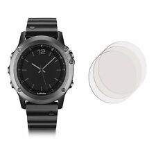 2 x Pack Clear Front Anti Scratch Screen Cover For Garmin fenix 3
