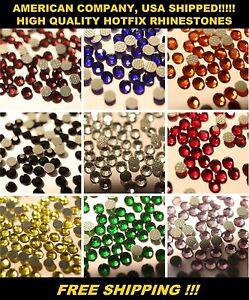 SS6 (2mm) AAA+ Quality HotFix Rhinestones, Korean Stye, Many Colors 10-25 Gross