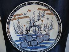 """Japanese Imari Art Pottery 18"""" Charger-Late 19thCentury-NishikideDeco ration-Nice"""