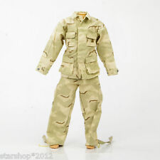 """Dragon 1/6 Scale Army Camo Trousers Pants Coat Jacket Clothes F 12"""" Figure Toys"""