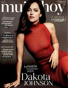 DAKOTA JOHNSON One day Magazine MUJER HOY February 2017