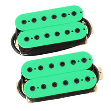 Electric Guitar Pickup Humbucker Double Coil Humbucker Pickup Kit Green
