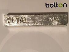 Indium Metal Bar Ingot 99.99% 4N Pure 1000g (appox. 1 kg./2.2 lbs)