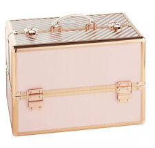 Small Cosmetic Makeup Vanity Box Blush Pink Beauty Case