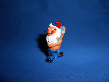 Bathroom Gnome Scissors Cutting Trimming Hair Figure Kinder Surprise 1991 German