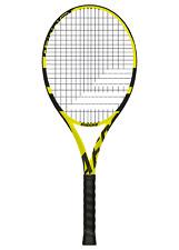 Babolat Aero G Tennis Racket - Yellow/Black grip 3 free post uk.unstrung.