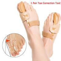 Big Toe Straightener Bunion Hallux Valgus Corrector Splint Relief Toe Ortho_DD