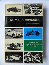 THE MG COMPANION BOOK MANUAL M.G. OLD NUMBER ONE K3 PB MIDGET TA TB TC TD TF MGA