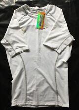 Men's White T Shirt with Coolmax Hollow Fibre Technology